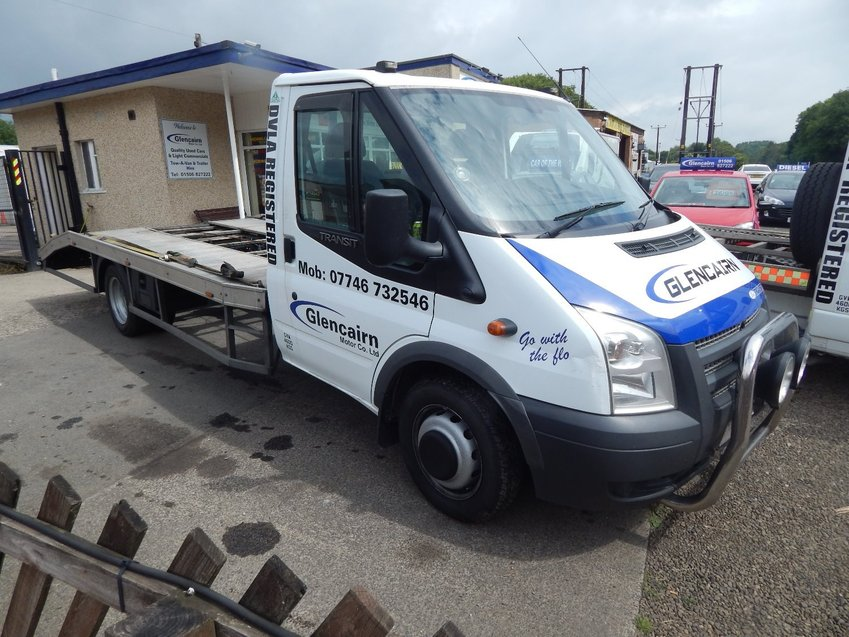 FORD TRANSIT 3.5t SINGLE CAR TRANSPORTER